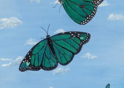 Blue Monarchs