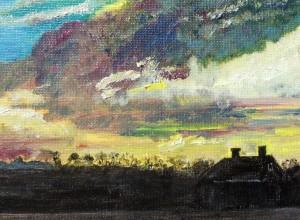 Sunset in Sagaponack